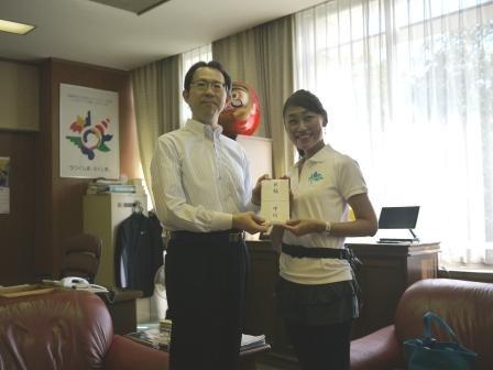 【活動報告】2012年9月13日福島県庁表敬