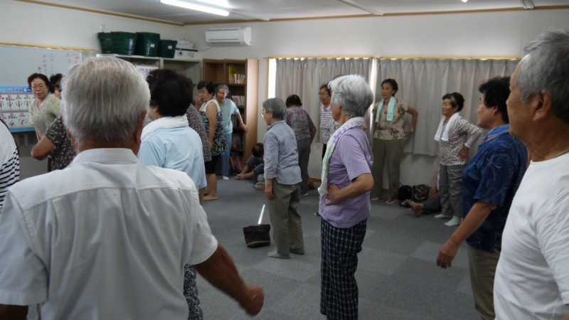 【活動報告】2012年9月13日福島県浪江町南矢野目仮設住宅訪問
